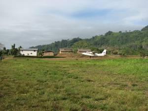 Britten-Norman Islander takeoff