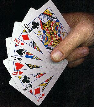 my deck of cards the bucket