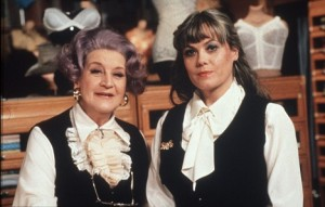 Mollie Sugden and Wendy Richard