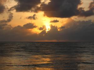 Newell beach sunrise