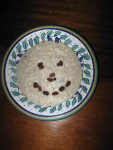 Happy porridge