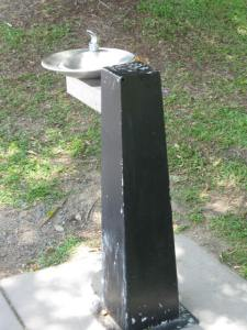 The public drinking-water fountain