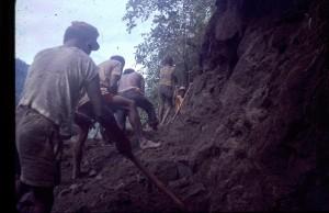 Digging intake race