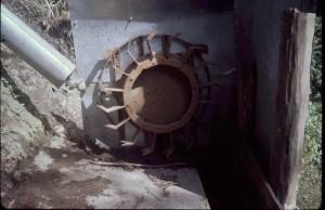 Pelton wheel Mk 1