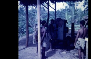 CeCoCo SC25 rice mill at Yankok Extension Centre 1970