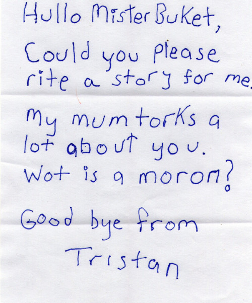 Tristan letter