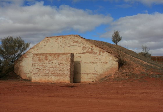 Woomera rocket shelter
