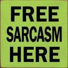 free sarcasm