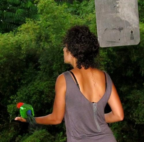 Inga and the bird (2/3)