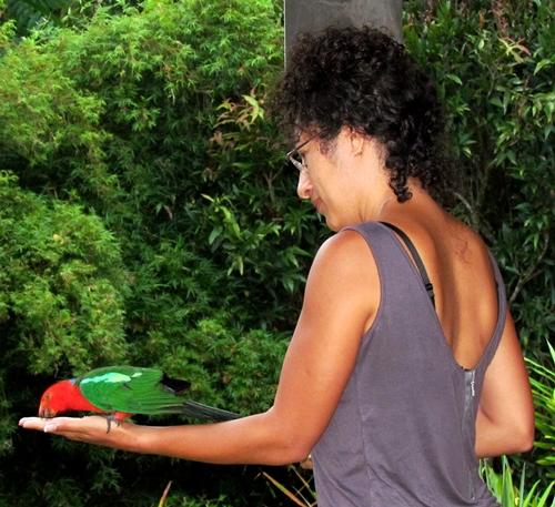 Inga and the bird (3/3)